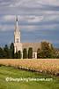 Autumn Church Scene, Calumet County, Wisconsin