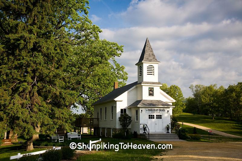 The Middlebury Church, Iowa County, Wisconsin