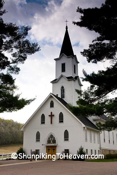 St. John Ev. Lutheran Church, Leland, Sauk County, Wisconsin
