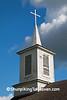 Steeple of the Island Church, Jefferson County, Wisconsin