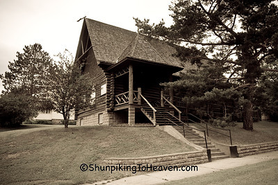 The Log Church, Coleraine, Minnesota