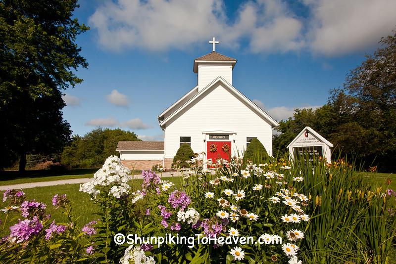 Little Prairie United Methodist Church, Walworth County, Wisconsin