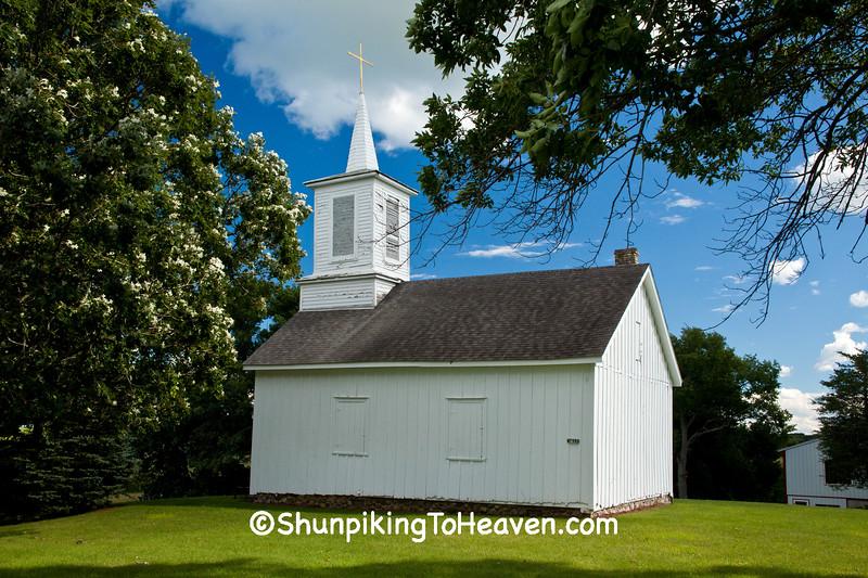 The Island Church, Jefferson County, Wisconsin