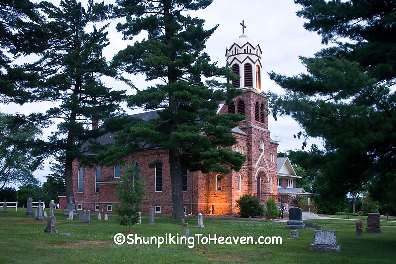 Our Lady of Lourdes Catholic Church, Barron County, Wisconsin