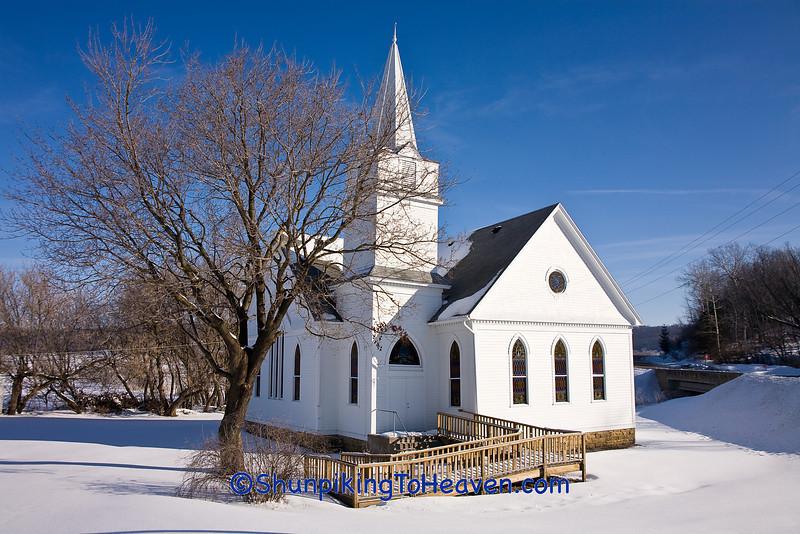 Wyoming Valley Methodist Church, Iowa County, Wisconsin