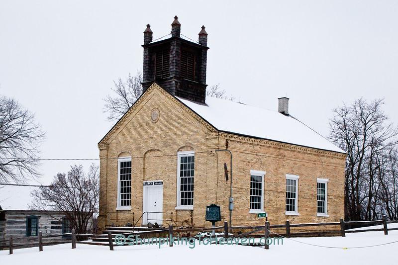 Aztalan, Baptist Church, Pioneer Aztalan, Jefferson County, Wisconsin