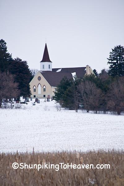Western Koshkonong Lutheran Church, Dane County, Wisconsin