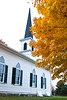 First Lutheran Church in Autumn, Built 1866, Middleton, Wisconsin