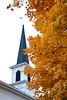 First Lutheran Church in Autumn, Built 1866, Middleton, Wisconsin