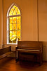 Piano at First Lutheran Church, Middleton, Wisconsin