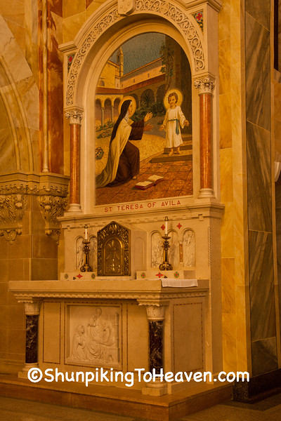 Side Altar at Holy Hill  Basilica, Washington County, Wisconsin