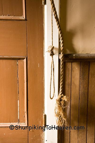 Church Bell Rope, Portland Prairie Methodist Church, Houston County, Minnesota