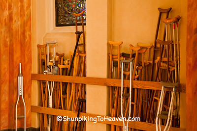 Crutches Left at Holy Hill Basilica, Washington County, Wisconsin