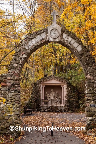 Entrance to Stations of the Cross, Holy Hill, Wisconsin