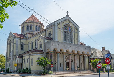 Holy Trinity Church in Hackensack,New Jersey