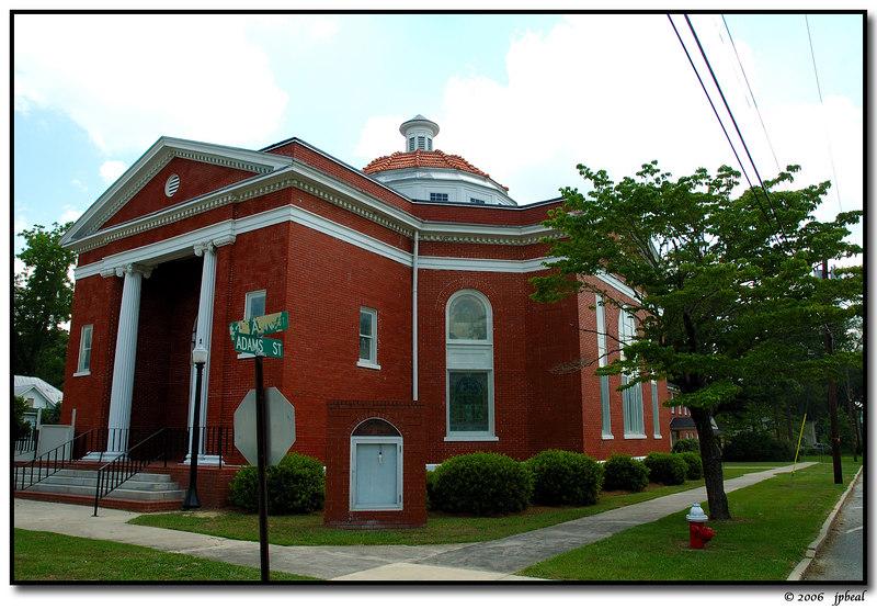 Baptist church, Boston, GA
