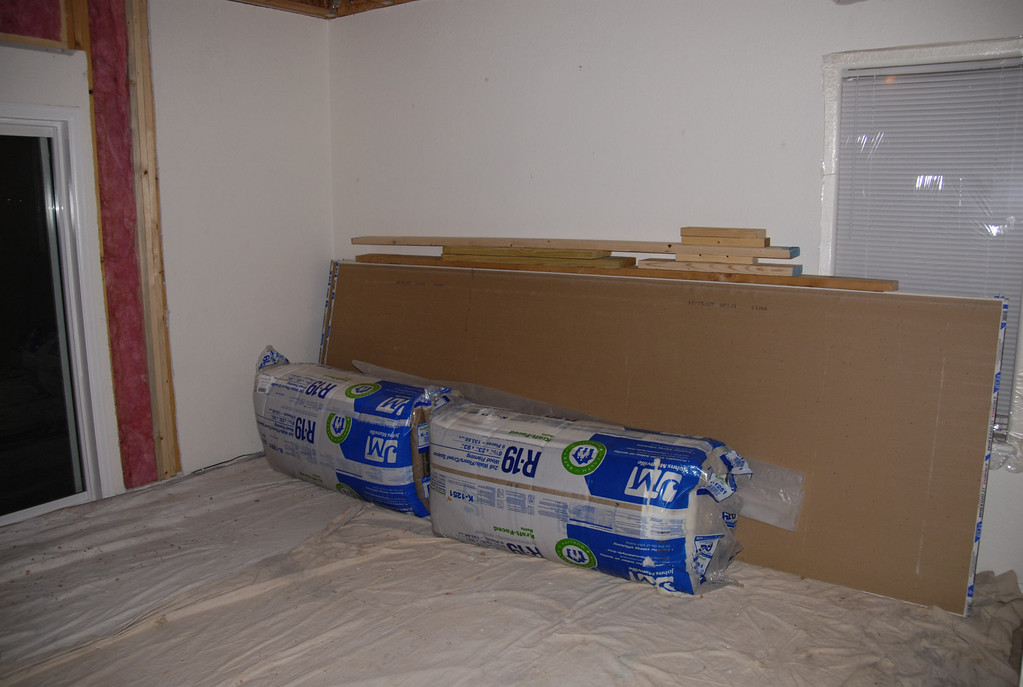 The sheetrock and insulation go in soon