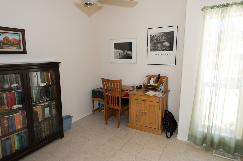 Front small room possibly office.