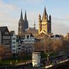 Kölner Altstadt mit Dom und Groß St. Martin