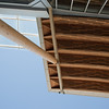 Detail of the roof of the Richmond Olympic Oval.