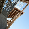 Detail of the roof on the north (river) side of the Richmond Olympic Oval.