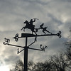 January 2011. Weather vane near Burns's Cottage.
