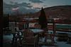 Terrace at daybreak 04h56<br /> April 16, 2014