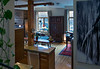 Condo living area from mezinine stairs<br /> April 14, 2014