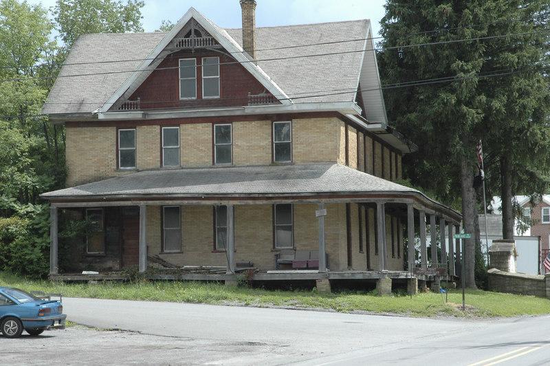 old hotel, Clarance. PA