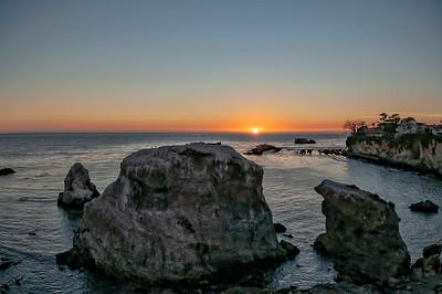 Pismo Cliffs Sunset