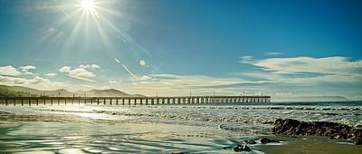 Restful beach Walk - Cayucos Pier