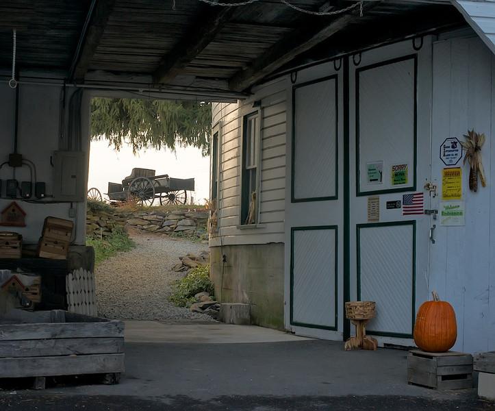 Historic Round Barn, Biglerville, PA<br /> Farmers Market