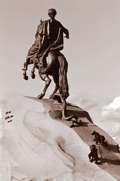 Statue of Peter the great, Saint Petersburg, Russia.