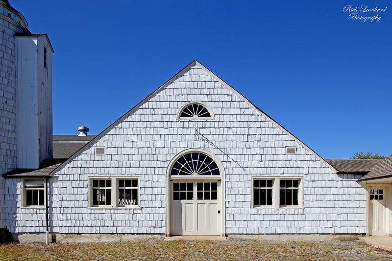 Rustic barn at Caumsett State Park,NY.