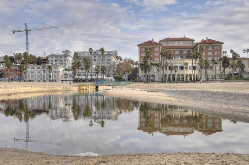 Shutters to Casa del Mar