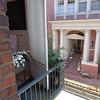 The neighbors house entrance.