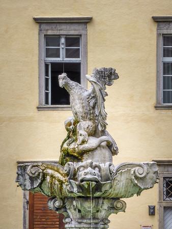 Fountain Eagle