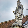 Statue on Rooftop