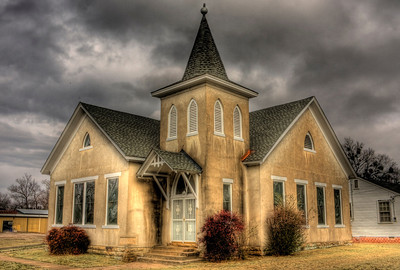 Presbyterian Church Chapel and the Belle Museum - Charleston, AR
