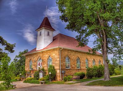 Harmony Presbyterian Church - Clarksville, AR, ca 1915