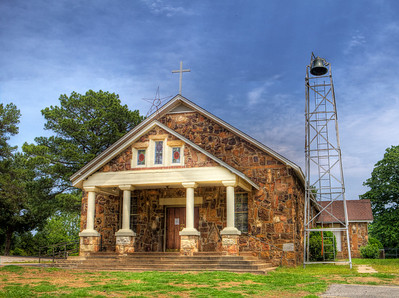 St. Scholastica Church, New Blaine, AR