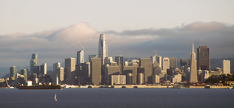 SalesForce Tower from Point Richmond