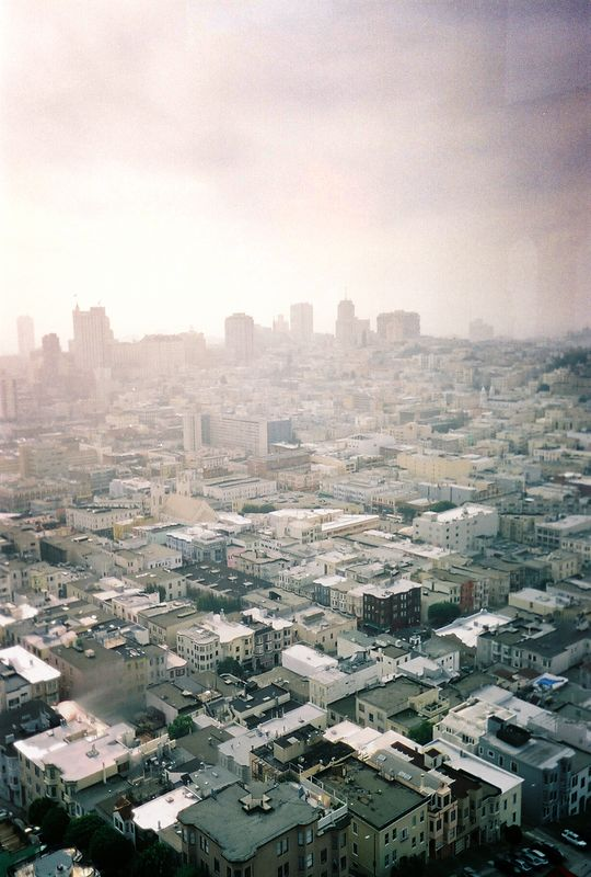 From Coit Tower.