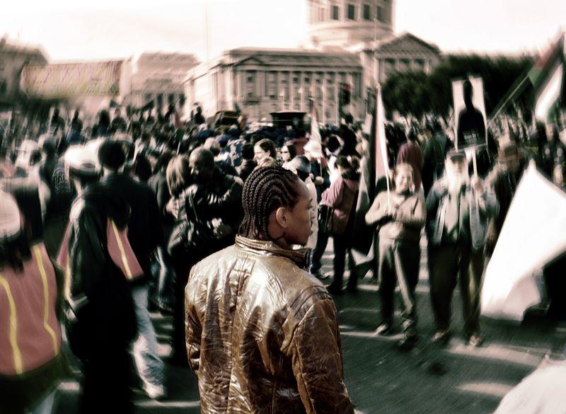 Civic Center on MLK day.
