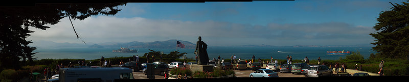 Location: Base of Coit Tower, San Fransisco<br /> Software: DoubleTake
