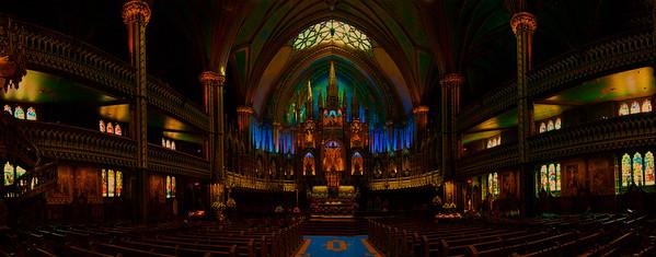 Basilique Notre-Dame De Montreal Notre-Dame Basilica of Montreal