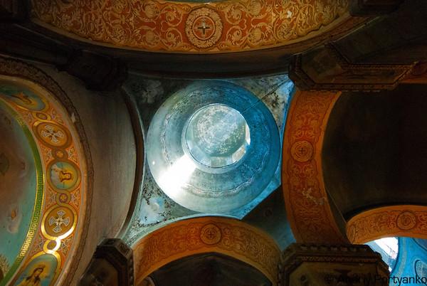 Zhytomir Orthodox Cathedral 1864 Жітомирський Преображенський катедральний собор, 1864. Збудований на місці Василіянської церкви (1771). Висота храму 53 м.
