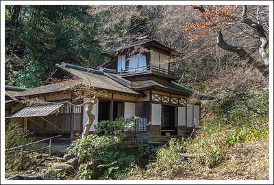 A guest house with an attached tea house.