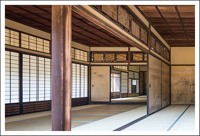 These old Japanese buildings are so beautiful, but must have been cold and uncomfortable in the winter.