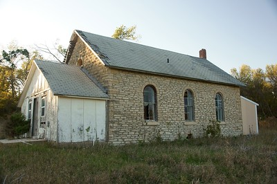 Wabaunsee County Kansas schoolhouse.